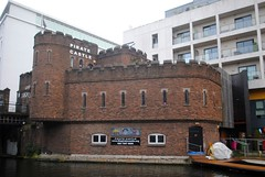 Pirate Castle (zawtowers) Tags: jubilee greenway section 2 walk saturday 28th april 2018 cloudy damp littlevenicetocamdenlock regents canal amble stroll walking exploring london urban pirate castle west coast main line activities boats functions community