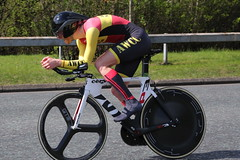 Jamie Davidson (Aberdeen Wheelers C.C.). (Paris-Roubaix) Tags: jamie davidson aberdeen wheelers cc scottish nation 10mile time trial championships westferry west ferry bicycle racing champion 2018