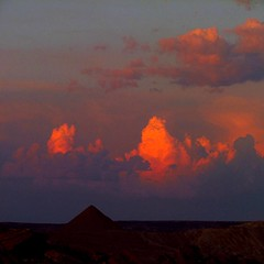 wyoming storm (sculptorli) Tags: wyoming clouds thunder landscape sunset