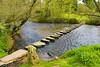 Stepping Stones, Lealholm, North Yorkshire (Kingsley_Allison) Tags: steppingstones river rivercrossings water stream stones nikon northyorkshire nikond7200 yorkshire egtonbridge lealholm