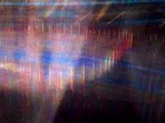 Areena 1 (Lauri S Laurén) Tags: art artphoto photoart outsiderartist laurilaurén contemporaryart contemporary multiexposure multipleexposure longexposure hartwallareena helsinki finland suomi blur blue red