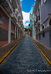 Streets of Blue (Timothy S. Photography) Tags: sanjuan puertorico pr