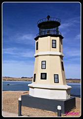 Replica of Split Rock Lighthouse, Lake Havasu City, Arizona (USA) (LOMO56) Tags: leuchttürme lakehavasucity lakehavasu towerstorritorrestourstürme towers torri torres tours türme