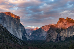 (jordywitteman) Tags: nationalpark np sunset tunnelview yosemitevalley yosemite wawona california verenigdestaten us