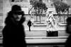 Spectres (Stephane C_2) Tags: blackandwhite noiretblanc people blur paris france street louvre