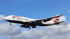 G-CIVT Boeing 747-436 British Airways (R.K.C. Photography) Tags: gcivt boeing 747436 b747 britishairways aircraft airliners aviation ba baw speedbird london england uk unitedkingdom hattoncross myrtleavenue londonheathrowairport lhr egll canoneos100d