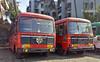 BL 4078 & BL 3137 FROM DEVGAD DEPOT (yogeshyp) Tags: msrtc maharashtrastatetransport devgaddepotbus borivalidevgadstbus