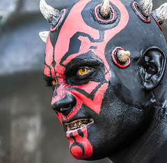 Photo (BadSoull) Tags: star wars maul darth man creature race zabrak sith photo photography darkside 2018