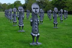 Agadoo Army (Yorkshire Pics) Tags: yorkshiresculpturepark ysp sculpture theinvisibleman sculpturepark wakefield 1105 11052018 11thmay 11thmay2018 blackandbluetheinvisiblemanandthemasqueofblackness theinvisiblemanandthemasqueofblackness