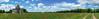 Roman church (Jean-Luc Peluchon) Tags: fz1000 panoramic panoramique campaign campagne rural église church fleur flower coquelicot poppy champ field chemin path nature paysage landscape