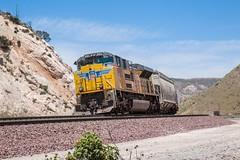UP 8582 (Mickoo737) Tags: up unionpacific cajon drawbarflats california ca
