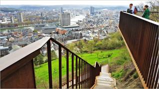 Liège vue de la Citadelle, Belgium