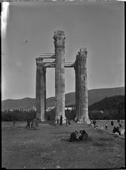 Στήλοι Ολυμπίου Διός, 1934. (Giannis Giannakitsas) Tags: greece grece griechenland athens athenes athen αθηνα 1934 στηλοι ολυμπιου διοσ