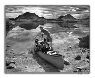 Canoe Inverpolly Boat Bay 2 BW a