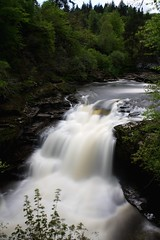 Falls of Clyde (aj.photos1) Tags: waterfall water fall fallsofclyde clyde scotland glasgow new lanark long exposure photography photo nature