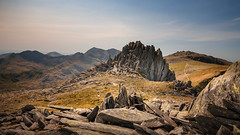 Castle of the wind. (Einir Wyn Leigh) Tags: landscape mountains walking hiking climb snowdonianationalpark wales uk peaks colorful sunshine outdoors rocks stones