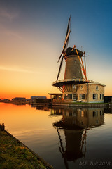 The windmill @ Sunset