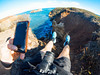 Setting up the Shot (TanojevicTom) Tags: 700d canonaustralia 2018 goproaustralia gopro 12apostles don'tfall clifftop cliffs cliff ontheedge legshot roadtrip greatoceanroad