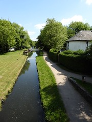 Pontymoile Narrows, Monmouthshire-Brecon Canal, Pontypool 19 May 2018 (Cold War Warrior) Tags: canal pontymoile narrows pontypool cottage