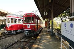 Old station (Teruhide Tomori) Tags: mino gifu station train 旧美濃駅 美濃 岐阜 日本 japan japon 名鉄 meitetsu railway railroad 電車 列車 鉄道