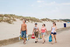 (Peter de Krom) Tags: hvh polish pier summer shirt chest hair dirk lidl ah bags beach dunes drinking party holiday