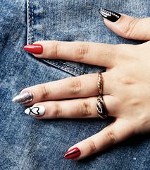 *** (donnicky) Tags: mariiabobrovskaia art closeup devil hand humanbodypart manicure nails publicsec