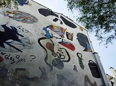 Fa Fa? (david ross smith) Tags: paris france graffiti ad sign signage poster sticker art 11tharr 11tharrondissement jeanaicardsquare