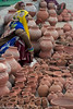 The Pot Vendors (Nick Mayo/RemoteAsiaPhoto) Tags: selling market madhyapradesh india gwalior
