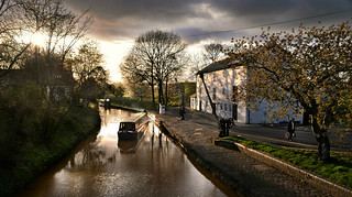 A canal boat called