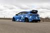 Ford Focus RS on TSW Mosport concave wheels - 6 (tswalloywheels1) Tags: bagged air suspension camo wrap blue ford focus rs mk3 tsw mosport concave aftermarket wheel wheels rim rims alloy alloys
