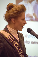 DSC_6791 The Federation of International Women's Associations of London FIWAL Women's Voices Heard Empowerment and Equality from around the World. Kate Willoughby (photographer695) Tags: the federation international womans associations london fiwal voices heard empowerment equality from around world kate willoughby actor writer proud yorkshire woman temporary suffragette aka emily wilding davison was who fought for votes women womens