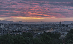 Red Sky (M.a.r.t.Y) Tags: rome sunrise marty 5dmarkiii canon