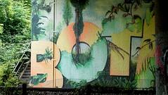 OLDENBURG - BRIDGE GALLERY / bridges near the city center - Brücken in Innenstadtnähe / Graffiti, street art - 152nd picture (tusuwe.groeber) Tags: projekt project lovelycity graffiti germany deutschland lowersaxony oldenburg streetart niedersachsen city stadt farbig farben favorit colourful colour sony sonyphotographing nex7 bunt red rot art gebäude building gelb grün green yellow abs psk bridgegallery bridge bridges brücke brücken brückenkunst präventionsrat marschweg westfalendamm niedersachsendamm cloppenburgerstrase botanischergarten carlvonossietzkyuniversität altefleiwa botanicalgarden botanicgarden