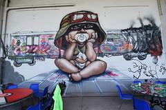 A nos enfants... Sacrifiés (HBA_JIJO) Tags: streetart urban graffiti paris art france hbajijo wall mur painting aerosol peinture murale children enfant spray bombing war urbaine soldat culture baby sidne sidney charactere