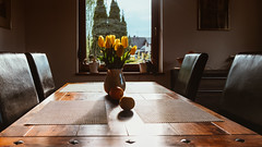27.04.2018 (Fregoli Cotard) Tags: house tulips table onthetable floral sunset sunsetlight sunsetray beautifulsunset awakethelight lightchaser goldenlight goldenhour flowervase lowlightleague dailyjournal dailyphotography dailyproject dailyphoto dailyphotograph dailychallenge everyday everydayphoto everydayphotography everydayjournal aphotoeveryday 365everyday 365daily 365 365dailyproject 365dailyphoto 365dailyphotography 365project 365photoproject 365photography 365photos 365photochallenge 365challenge photodiary photojournal photographicaljournal visualjournal visualdiary 117365 117of365