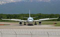 Air Canada AC834. Airbus A330-343. C-GHKX. (Themarcogoon49) Tags: airbus a330 aircanada aircraft gva lsgg cointrin airport planespotting avgeek switzerland aviation