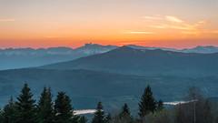 Coucher de soleil en Isère - France (pascal548) Tags: lac nuit vercors ciel