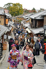 Higashiyama district (Aerisabel) Tags: higashiyama district kioto kyoto japan travel oldtown kimono tradition preserved ninenzaka sannenzaka