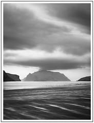 Diagonal lights (adam_pierz) Tags: faroeislands sorvagur eirikbodi sea fjord sky clouds blackandwhite monochrome island vagar mykines