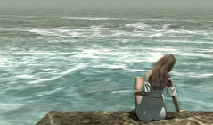• Rolling Sea • (JoJo_Kamm) Tags: ocean outdoors summer summertime stealthic stealthichair stealthicsensual ison girl woman female blonde zen calm tranquil peaceful relaxing relax rocks waves water nature