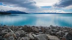 Lake Pukaki (imagesman) Tags: 4k clouds lakepukaki mountains newzealand stones