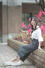 許小葆 (玩家) Tags: 2018 台灣 台北 台大 人像 外拍 正妹 模特兒 許小葆 戶外 定焦 無後製 無修圖 taiwan taipei portrait glamour model girl female outdoor d610 85mm prime