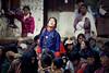 Bhutan: Gasa Tshechu. Sky-Gazing. (icarium82) Tags: bhutan travel canoneos5dmarkiv gasafestival gasatshechu spectators localpeople portrait captureone drukyul festival himalayas sigma100400mmf563dgoshsm traditionaldress traditionalclothing tshechu gazing gasa valley maskeddance