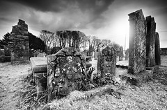 Wigtown Churchyard (andy_AHG) Tags: scotland galloway northernbritain outdoors rural countryside history legend folklore church graveyard churchyard ruins tombs ancient nikond300s wigtown wigtownshire themachars