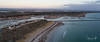 2018 - 04_25 - Widescreen - Drone - Outer Harbour - Sunset 02 (stevenlazar) Tags: 2018 drone ocean water phantom4pro outerharbour australia beach southaustralia clouds