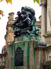 Queen Victoria Monument, Liverpool, England (teresue) Tags: 2017 uk unitedkingdom greatbritain england merseyside liverpool victoriamonument publicart derbysquare queenvictoria