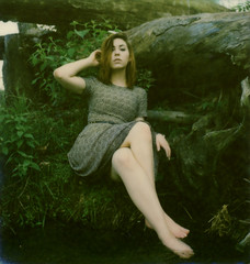 Back By the River (Scott Southall) Tags: 41415 carly model polaroid portrait nature naturallight outdoors analog art impossibleproject polaroidoriginals roidweek roidweek2018 polaroidweek polaroidweek2018 snapitseeit slr680 people river film filmisnotdead believeinfilm