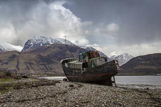 Shipwreck at Corpach
