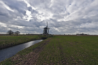 Tjongermolen, Mildam, Fryslân - The Netherlands (6203)