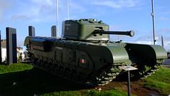 Churchill Mk VII (GoodOldHans) Tags: tank british churchill wwii war world carrickfergus monument